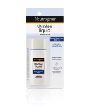 Neutrogena's  Ultra Sheer Liquid Daily Sunscreen  ($12.49)