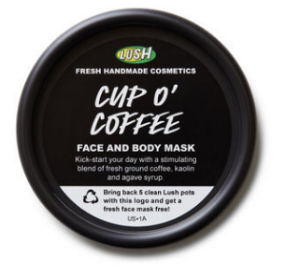 Lush 's  Cup O' Coffee Face And Body Mask   ($10.95-$19.95)