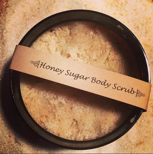 Honey Bath & Body  Honey Scrub  ($5/4 oz. & $10/8 oz.)