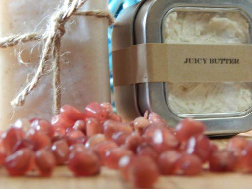 Honey Bath & Body  Juicy Body Butter  ($13.50/4 oz. &$26/8 oz.)