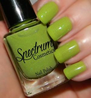 "Spectrum Cosmetics ' ""Inch Worm"" Polish  ($4.50+)"