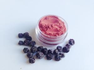 VyanaPlantBeauty 's  Vegan Blueberry Fruit Blush  ($9.99)