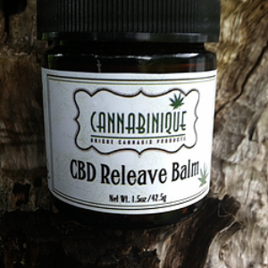 Cannabinique  CBD Releave Balm  ($25)