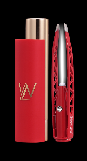 La-tweez  Red Pro Illuminating Tweezer  ($32)