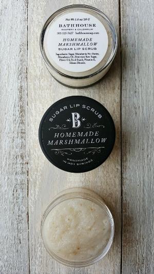 bathhouse 's  Homemade Marshmallow Lip Scrub  ( $12)