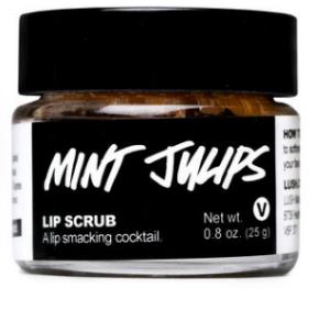Lush Cosmetics ' Mint Julips Lip Scrub  ($10.95)