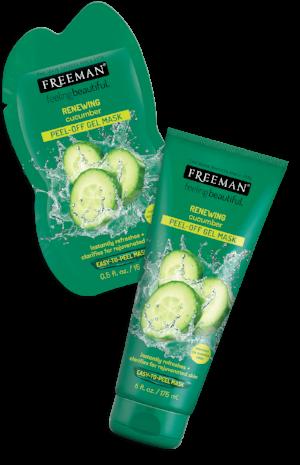 Freeman Beauty  RENEWING Cucumber Peel-Off Gel Mask  (price varies by retailer)