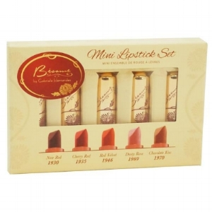 Bésame Cosmetics  Mini Lipstick Set 2017  ($25)
