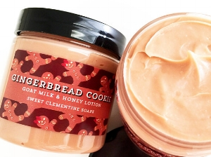 SweetClementineSoaps ' Gingerbread Cookie Lotion  ($7.50)