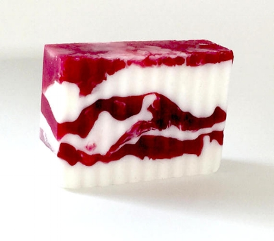 Fiori Soaps ' Cranberry Pomegranate Goat Milk Bar Soap  ($9.50)