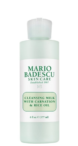 Mario Badescu 's  Cleansing Milk With Carnation & Rice Oil   ($12)