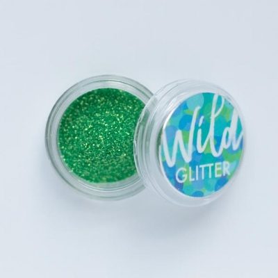 Wild Glitter   Fine Apple Green   (£2.75/3 ml)