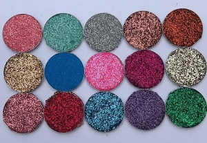 TexasHouseOfGlitters    Glitter Eyeshadow Palette 15 piece Cruelty Free  ($45)