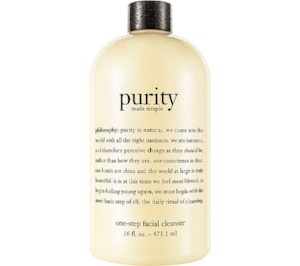 Philosophy 's  Purity Made Simple  ($11)