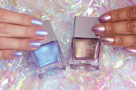 Nails Inc 's  Unicorn Nail Polish Duo    (£15.00)