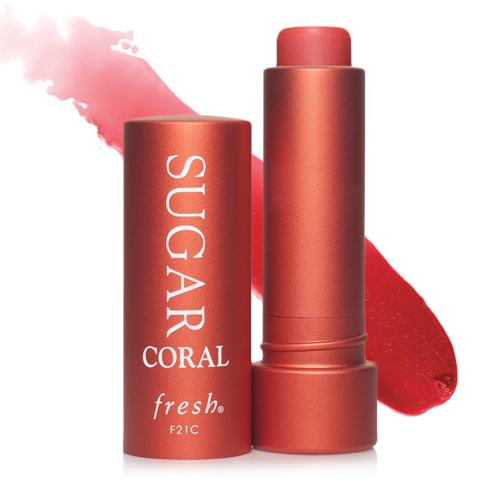 Fresh 's  Sugar Coral Tinted Lip Treatment Sunscreen Spf 15   ($24)