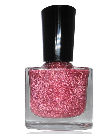 CRUSHnailART  Maiden Holographic Pink Rainbow Glitter Nail Polish  (€8.84)