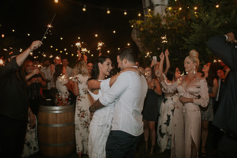 Adreena and Chris' wedding - photo by  Travis Cornish Photography