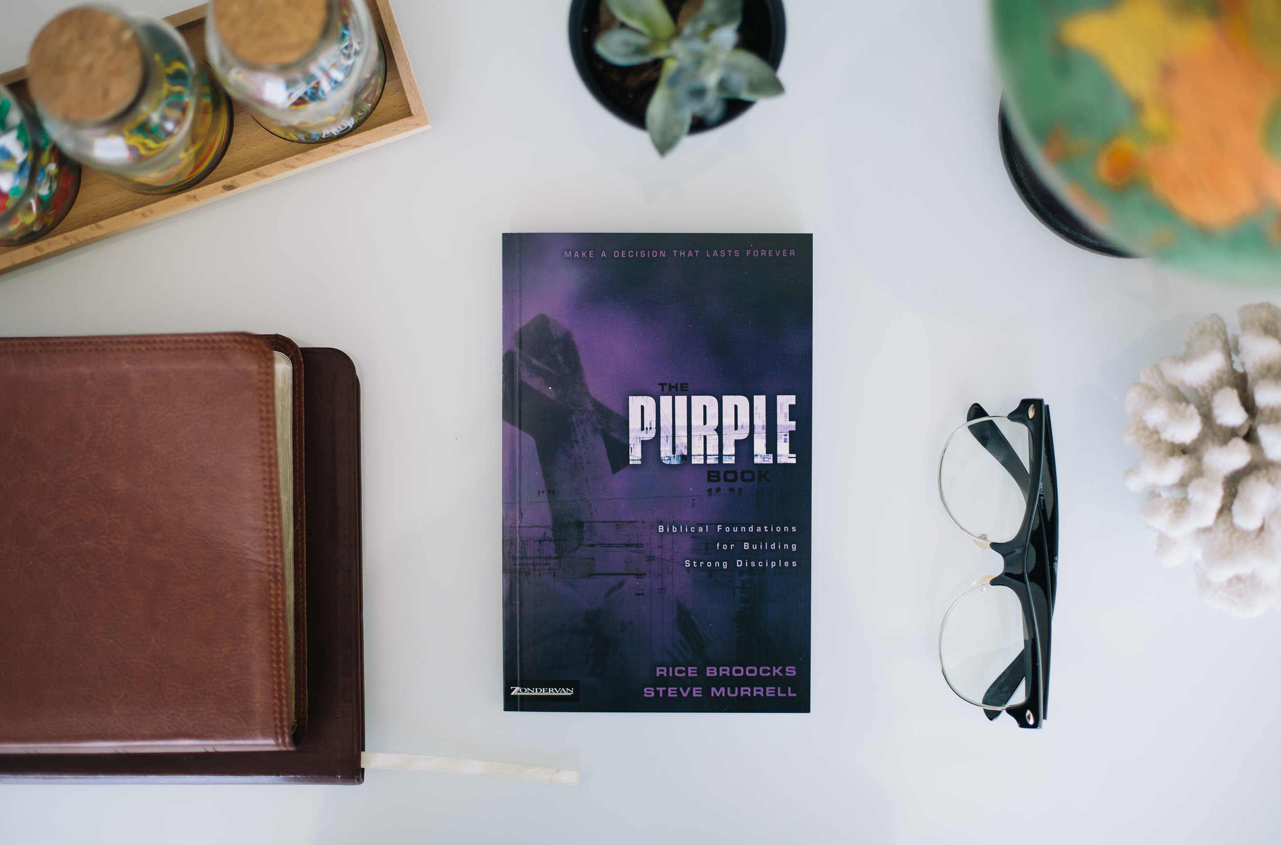 Are you looking to build or enhance your biblical foundations? Are you making CLC your church home? Sign up below to take part in our Purple Book Class!