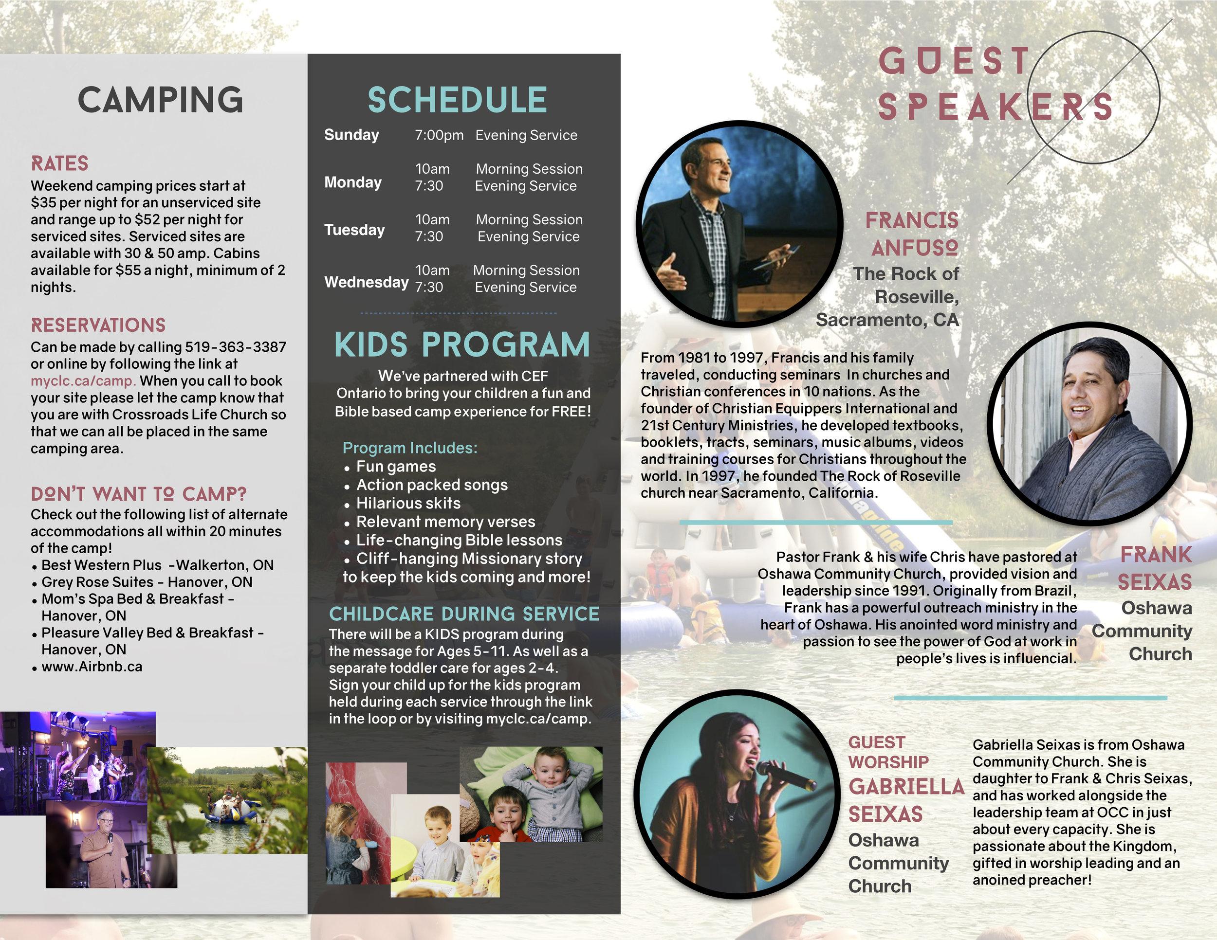 Life Camp Brochure 2019