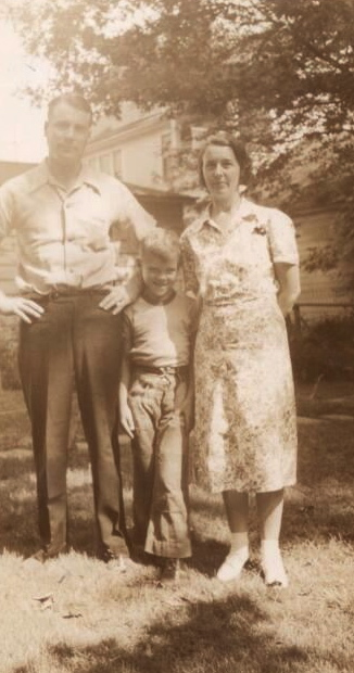 Grandpa, Flora and Dad