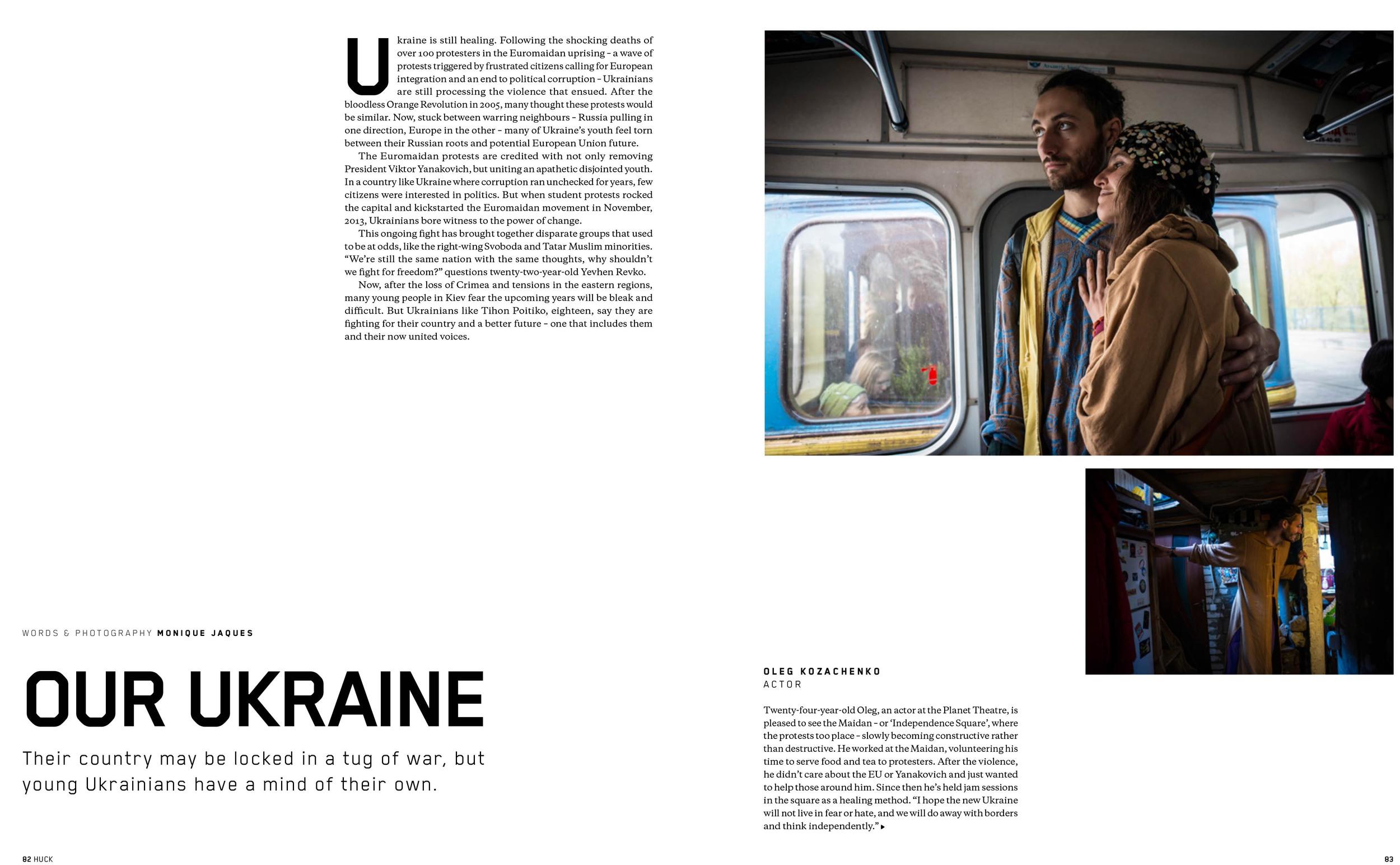 Huck Magazine UK