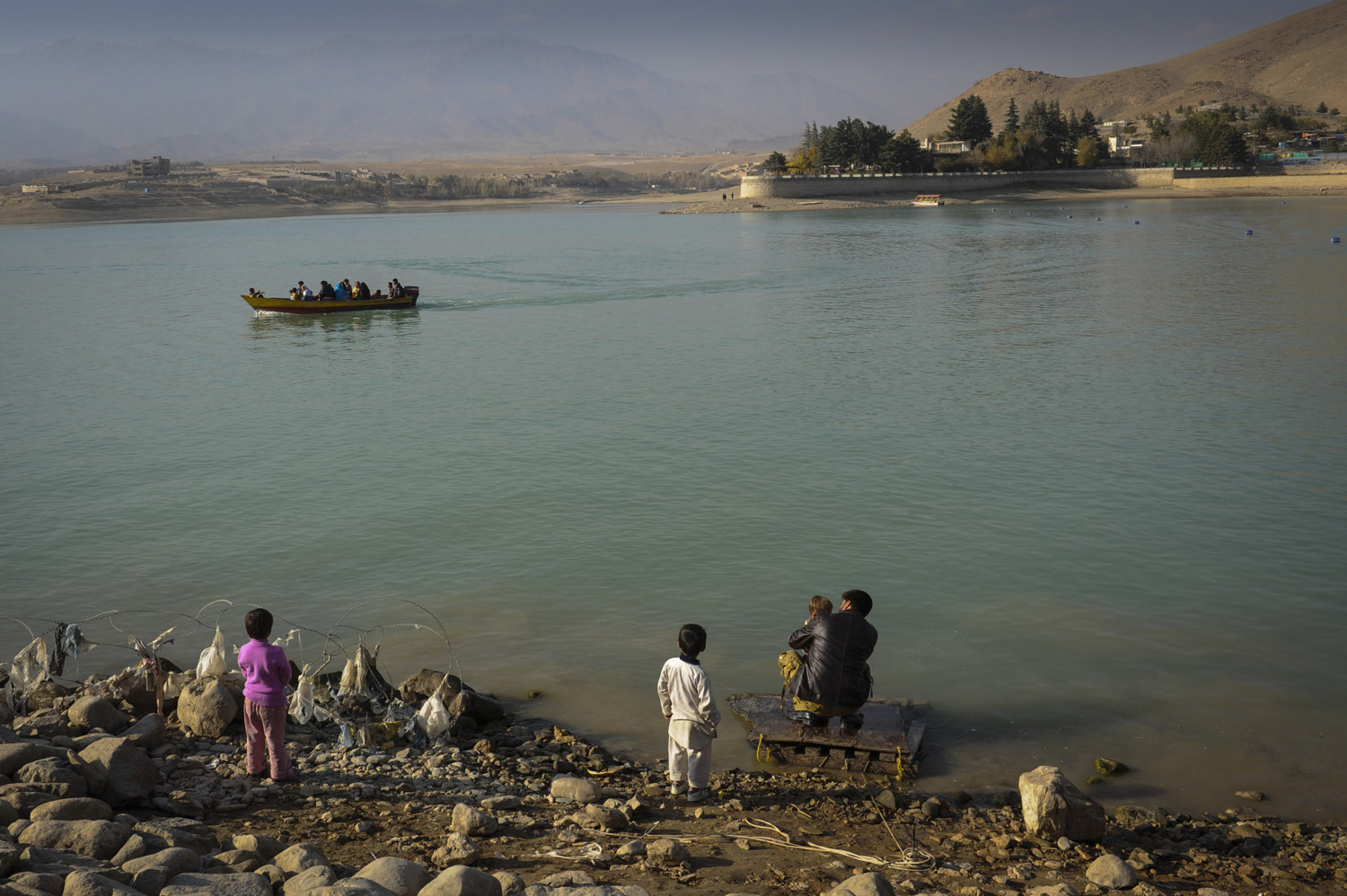 Lake Qargha 9km from Kabul, makes a great afternoon getaway from the city. Quarga is a man-made lake created by the damming of the Kabul river and is a lovely recreational place for Afghans with clean water for swimming, paddle boats, motor boats and places for families to gather and picnic.