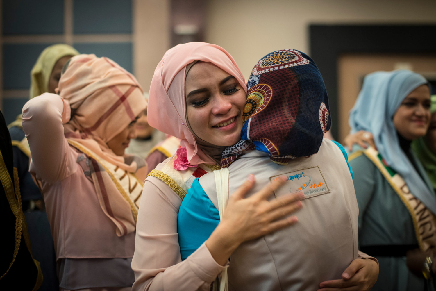 At the end of the forum some of the girls get emotional as the week draws to a close on November 19th, 2014 in Yogakarta, Indonesia.
