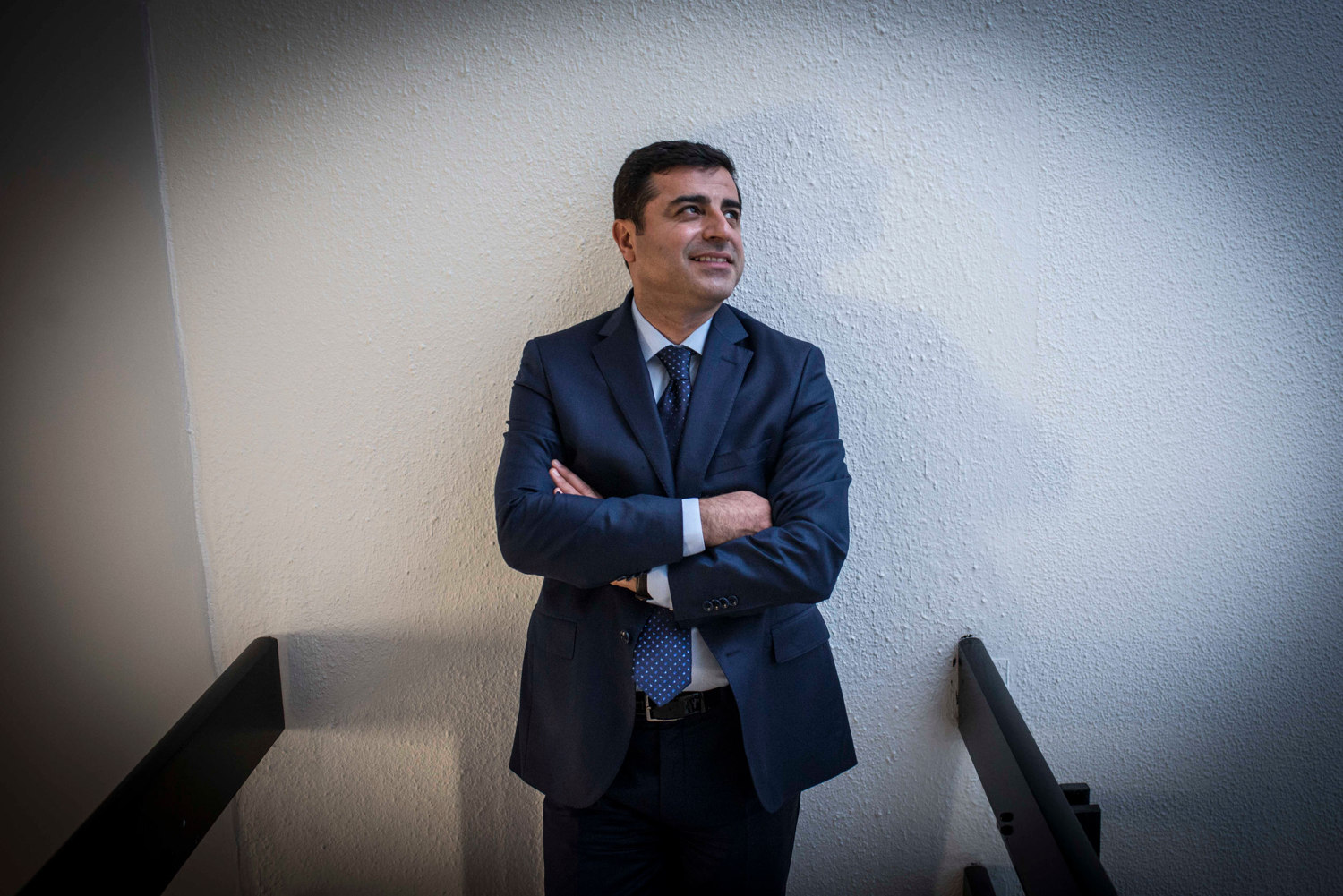 Selahattin Demirtaş is a Kurdish politician in Turkey, photographed for The New York Times.