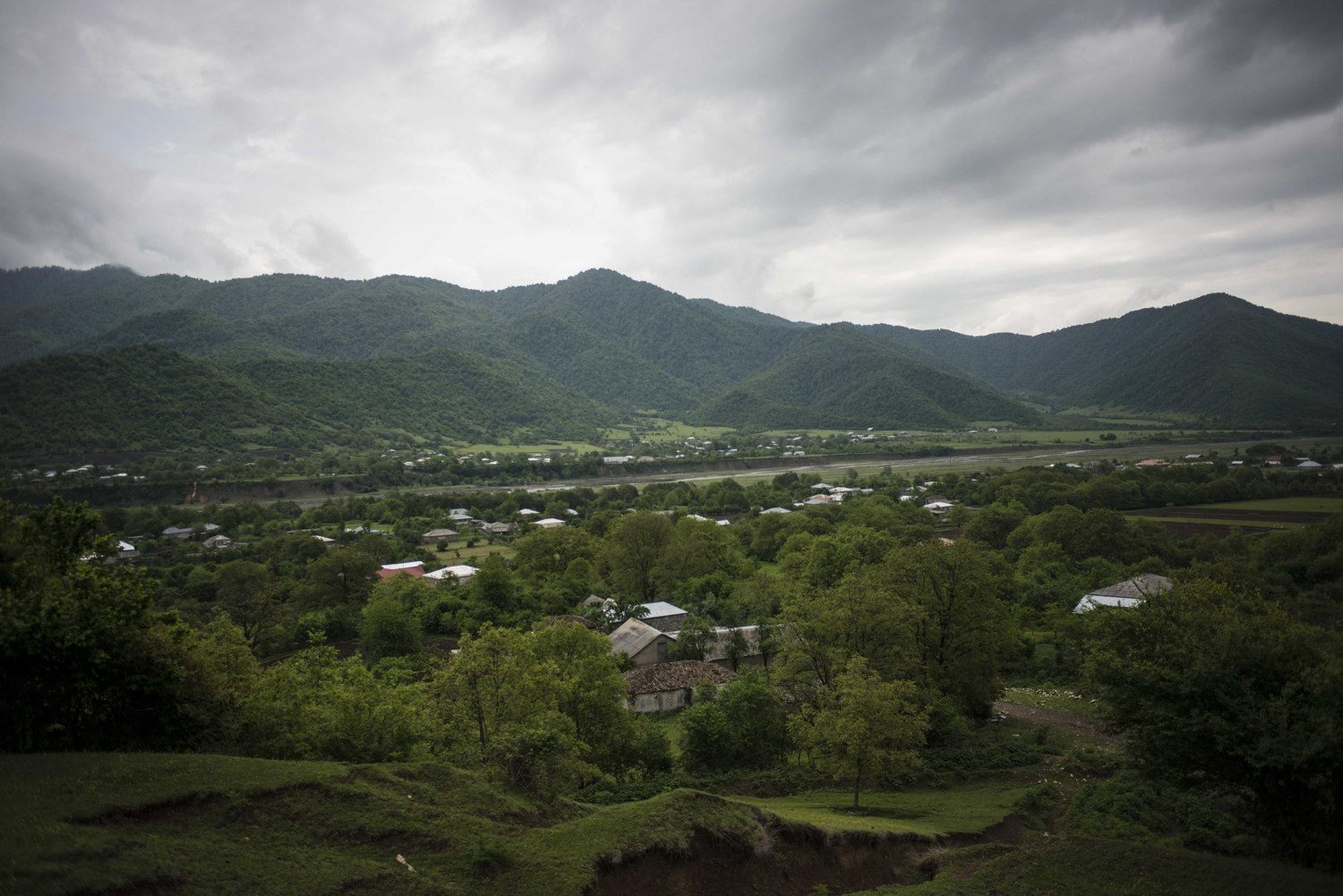 The Pankisi Valley, a secluded muslim village in the hills of Georgia. This traditionally muslim area has seen a resurgance of sufism.