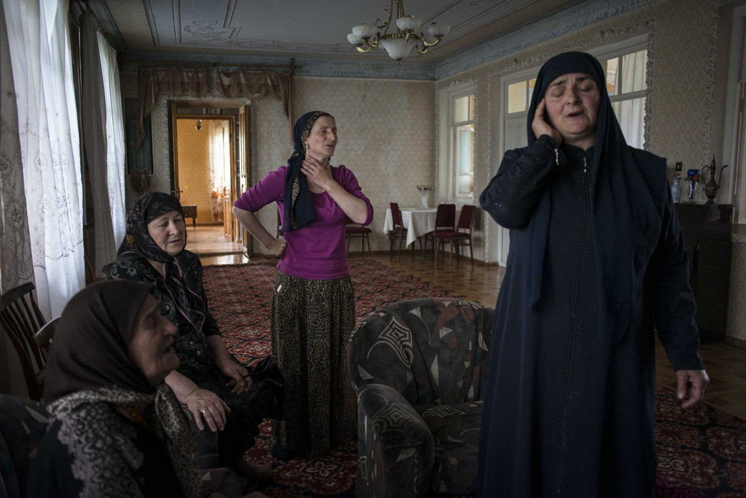In a Georgian valley with a reputation for arms smugglers and aspiring terrorists, a group of women keep the Sufi musical tradition alive.