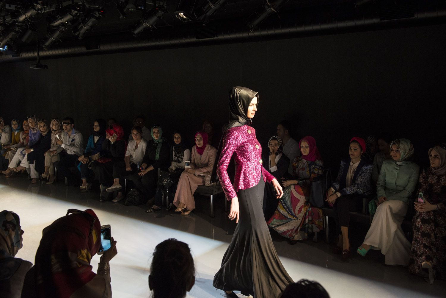 Images from the Modanisa fashion show on May 28th, 2014 in Istanbul, Turkey.