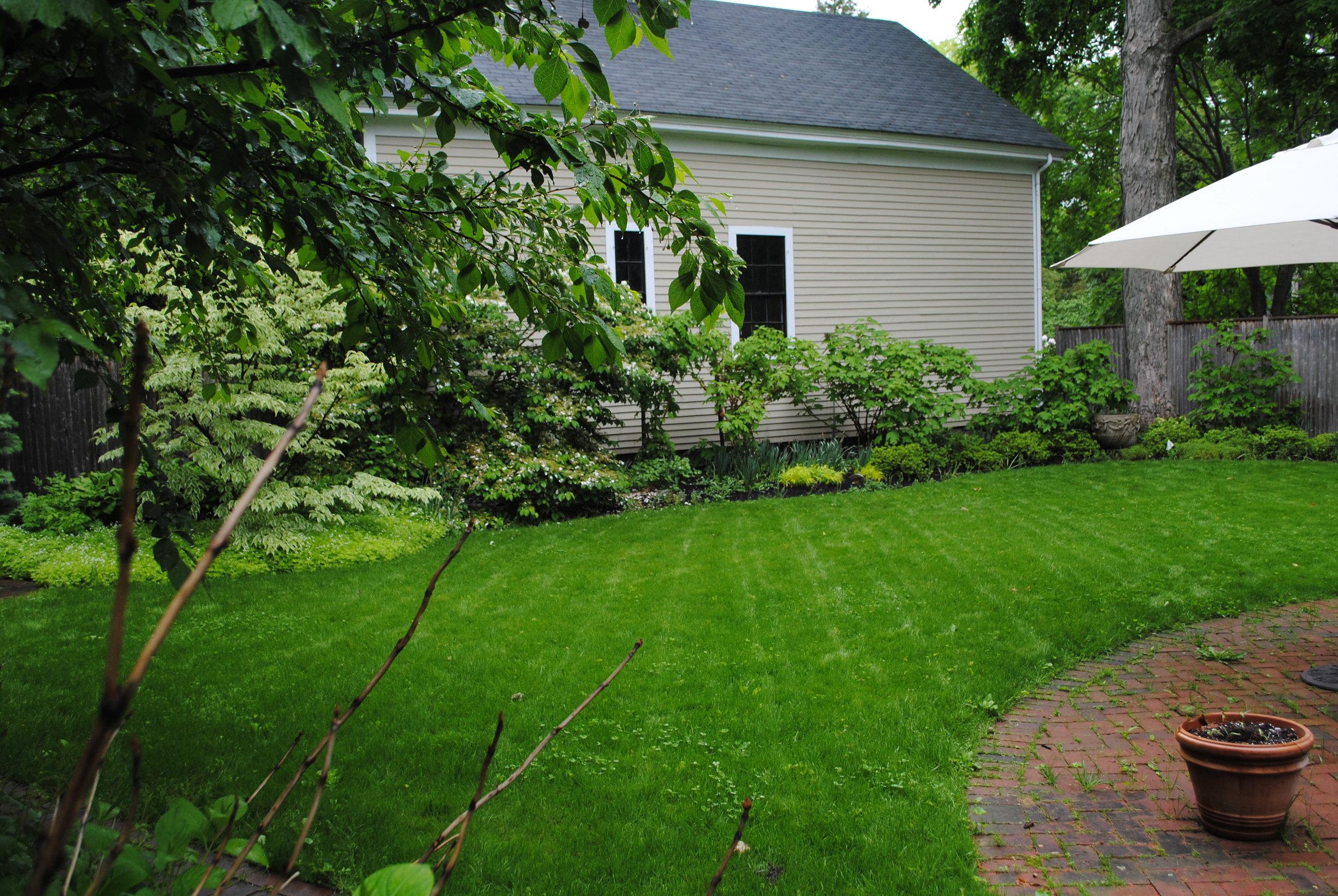 Cottage backyard, Concord, MA