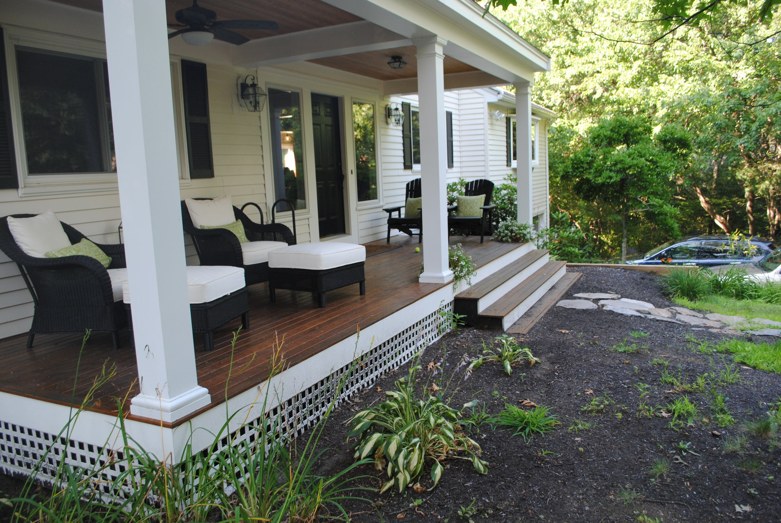Front deck area, West Concord, MA