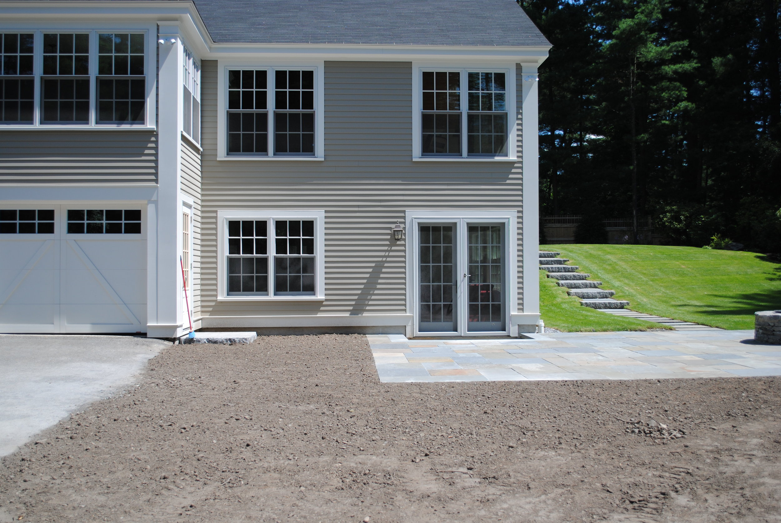 New construction of an addition to house, Sudbury, MA