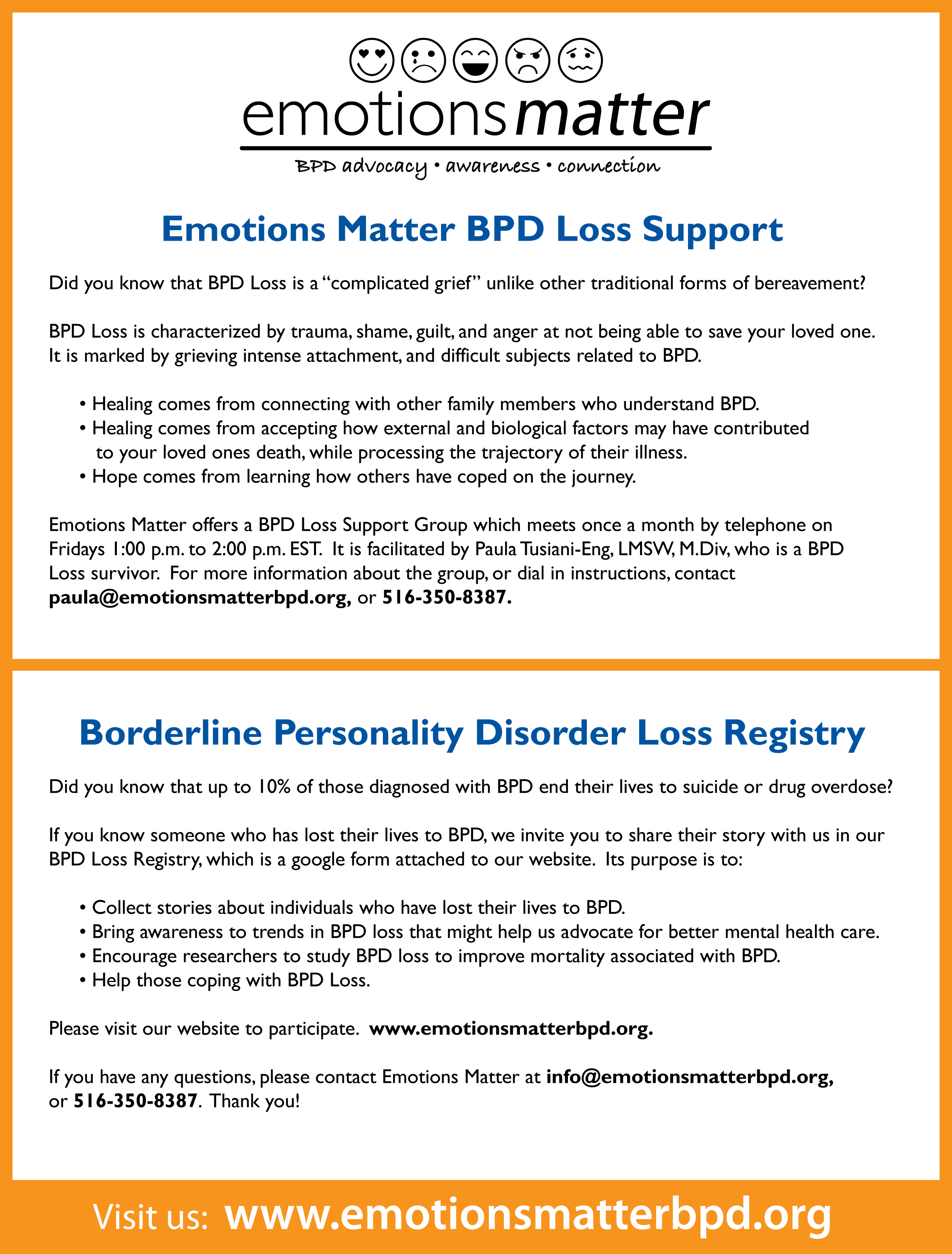 Click to download our BPD Loss Support flyer.