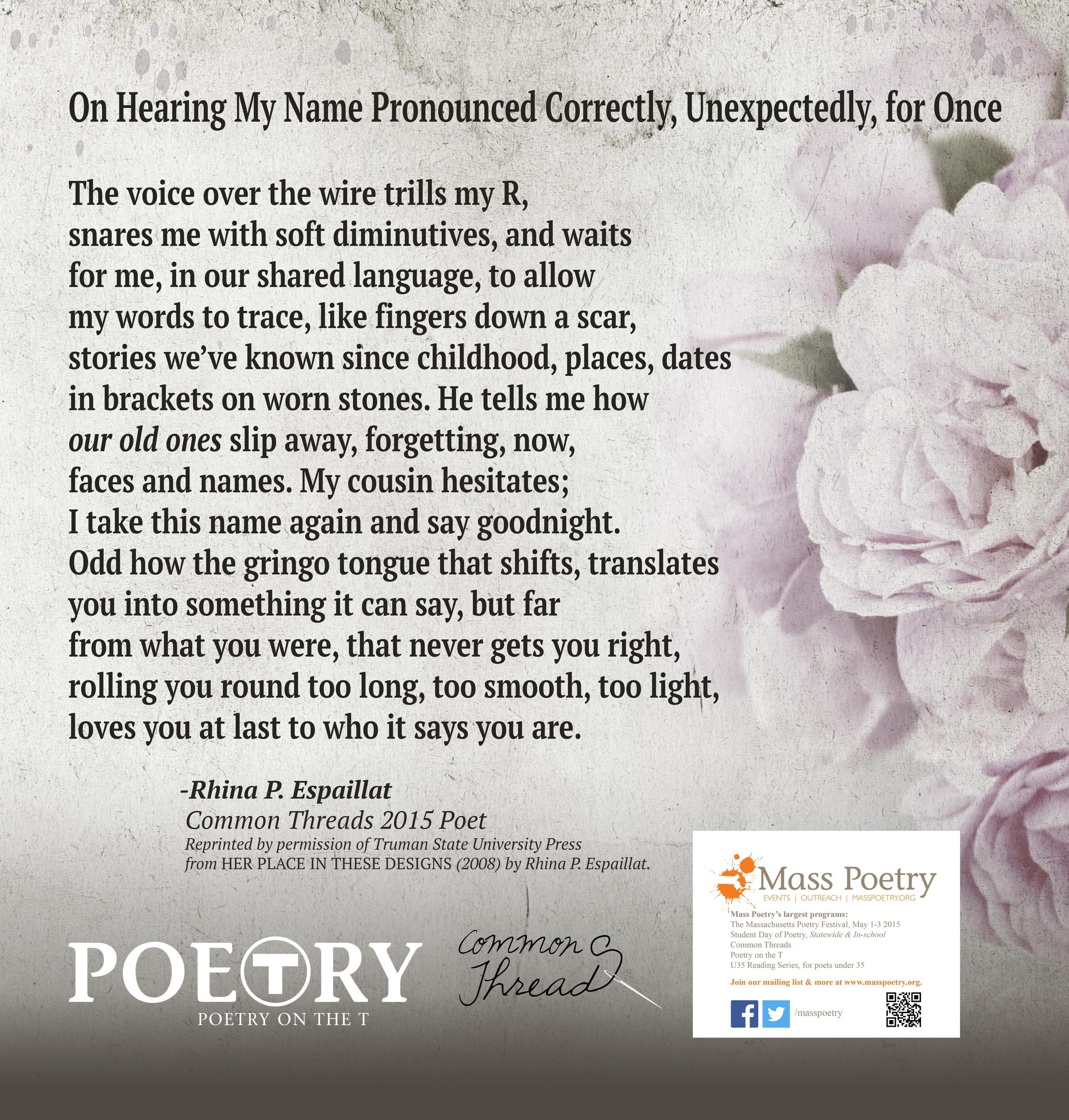 Rhina P. Espaillat Poetry on the T.jpg