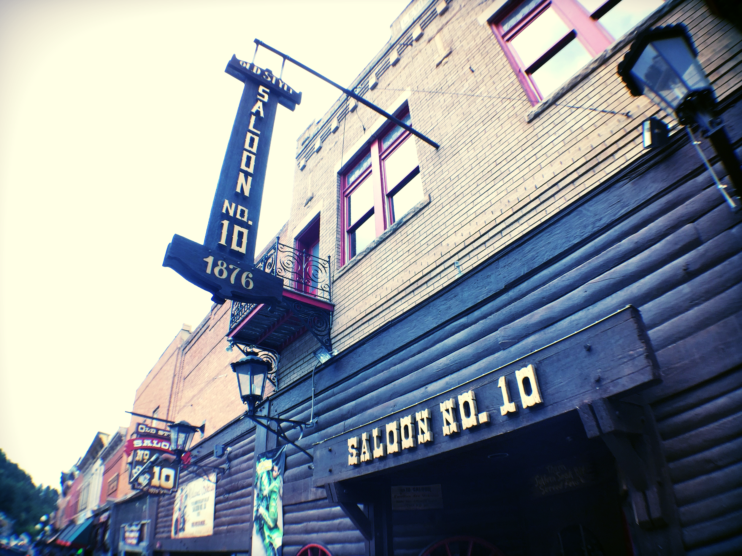 Saloon No. 10, an outlaw hangout during the Gold Rush days and Wild Bill Hickok's favorite poker joint in Deadwood