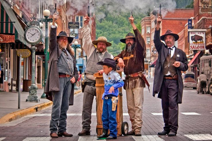The Outlaws of Deadwood - Live Action Reenactments on the Streets of Deadwood