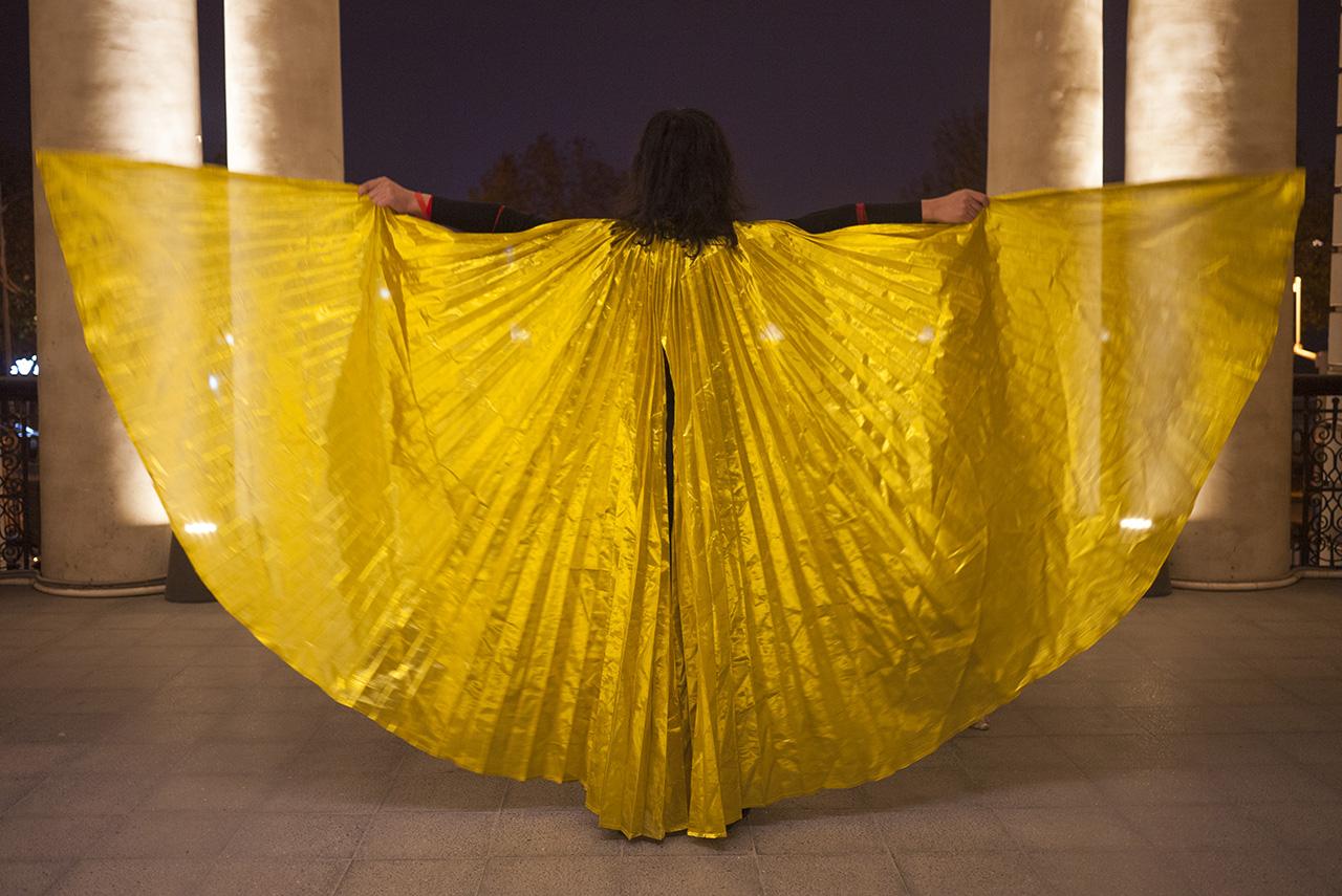 女艺术家必须是美的;女艺术家必须使用自己的身体 -