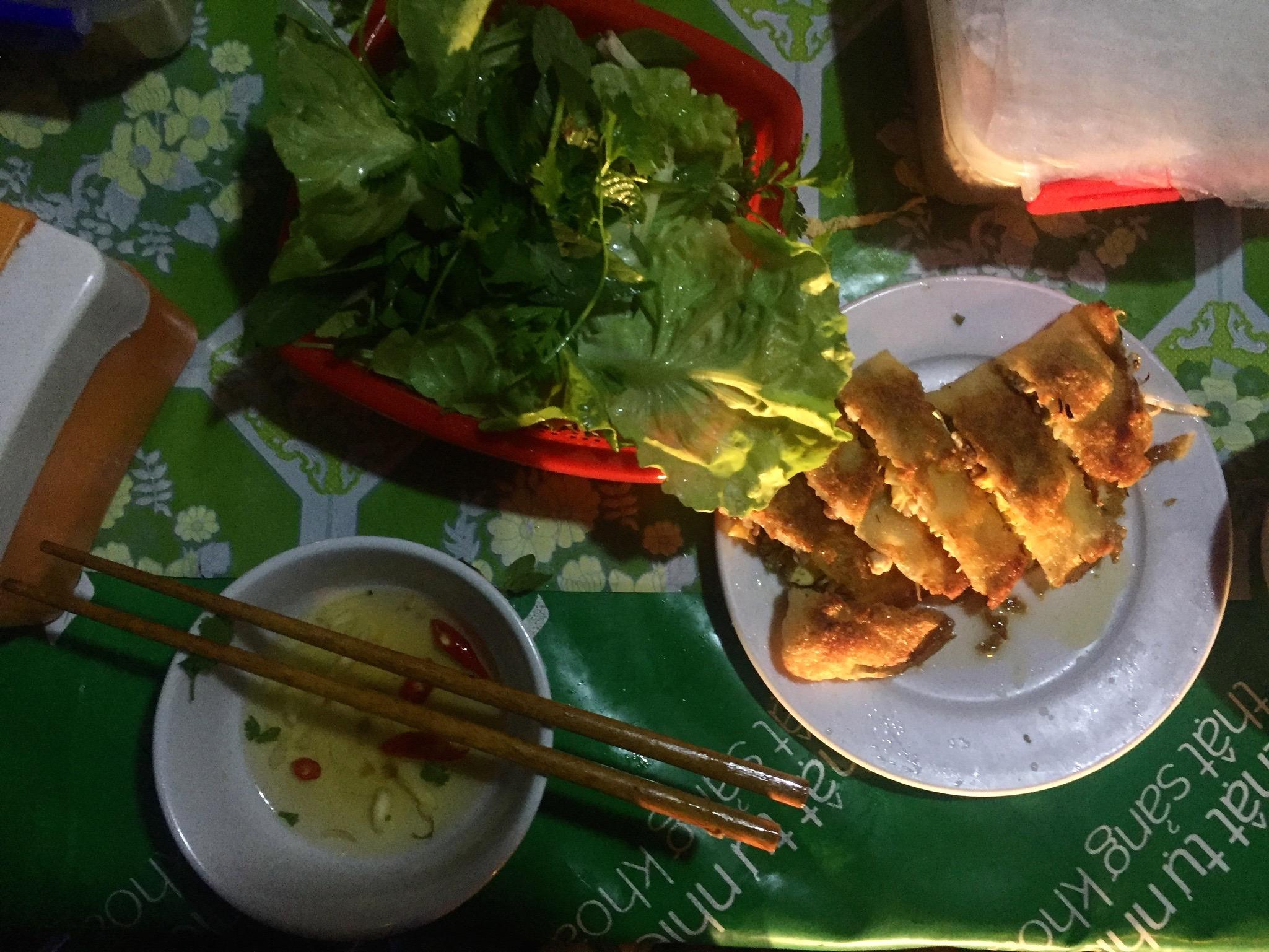 Banh Xeo (Vietnamese crepe), Cat Ba Island, Vietnam
