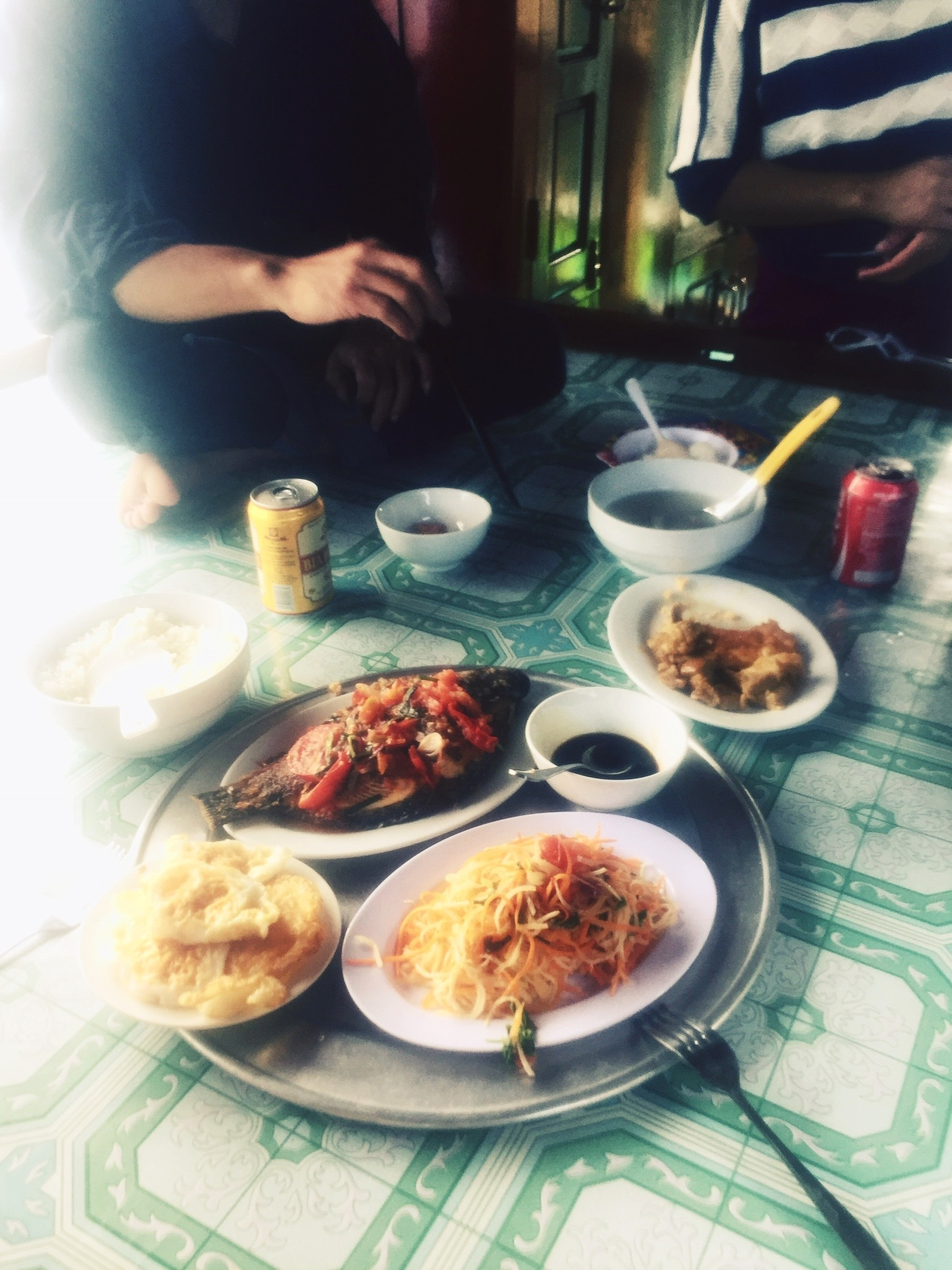 Homemade Seaside Feast, Halong Bay, Vietnam
