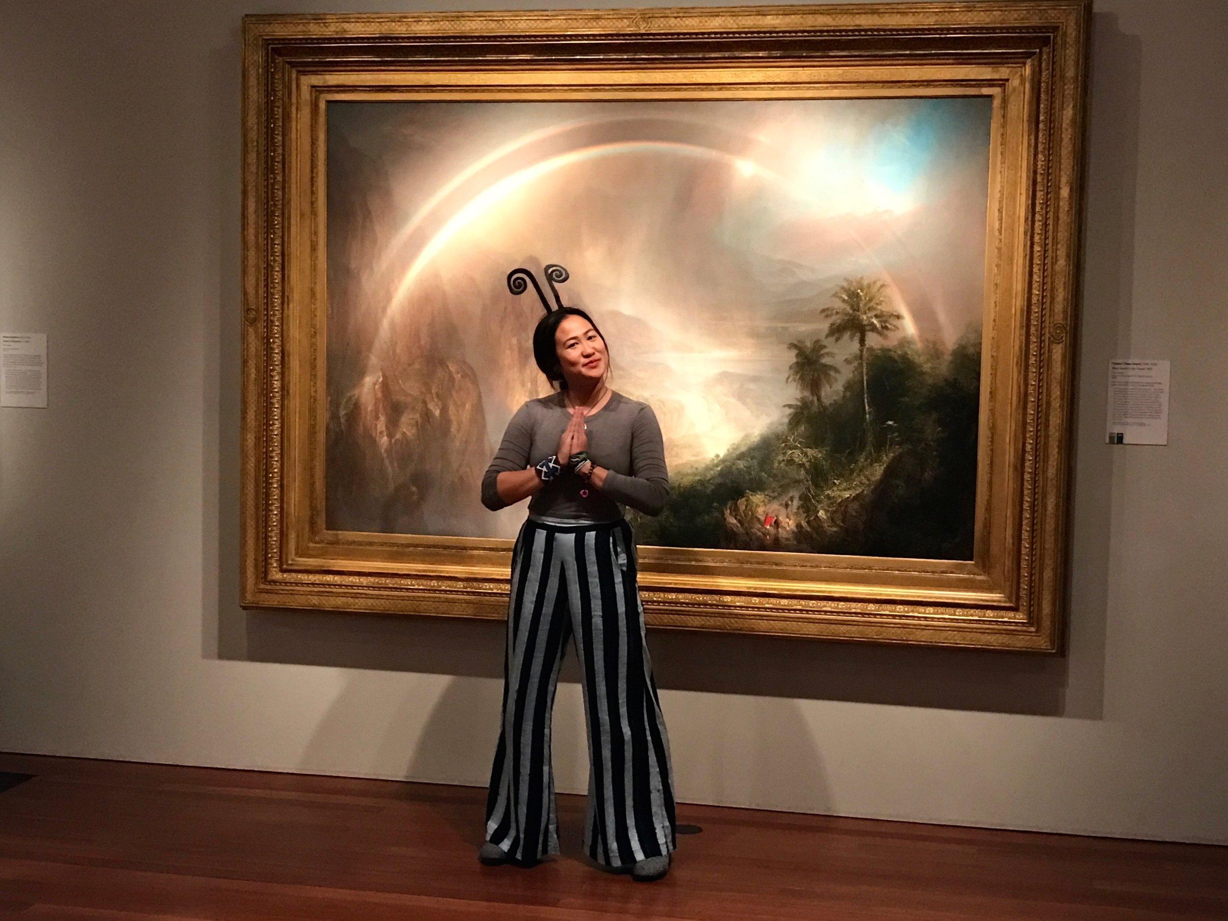 """Double Rainbow"", Edwin Church [DeYoung Fine Arts Museum, San Francisco, CA]"