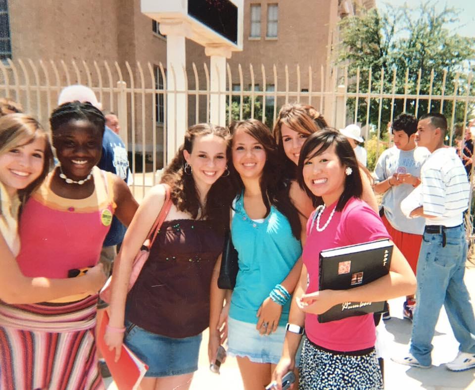 High School days, Tucson, AZ