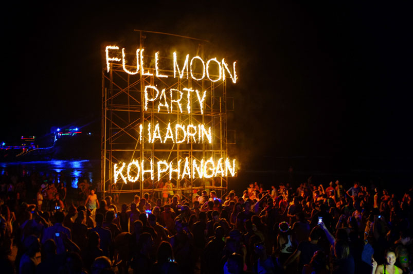 Full Moon Party | Haad Rin, Koh Phangan
