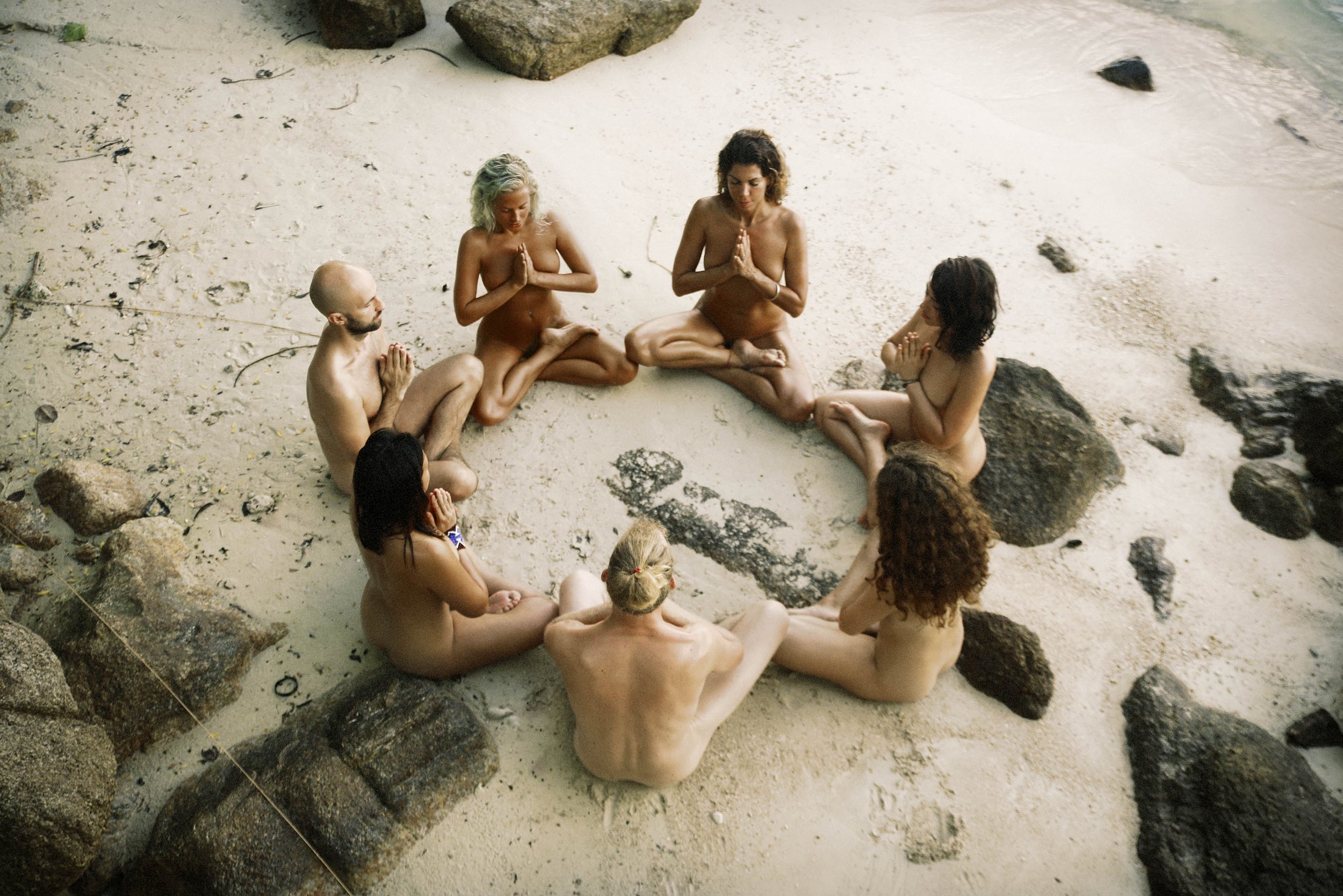 Ecstatic Nature Retreat |  Tantra Heart Love  | Captured by  Maxinne Bjork