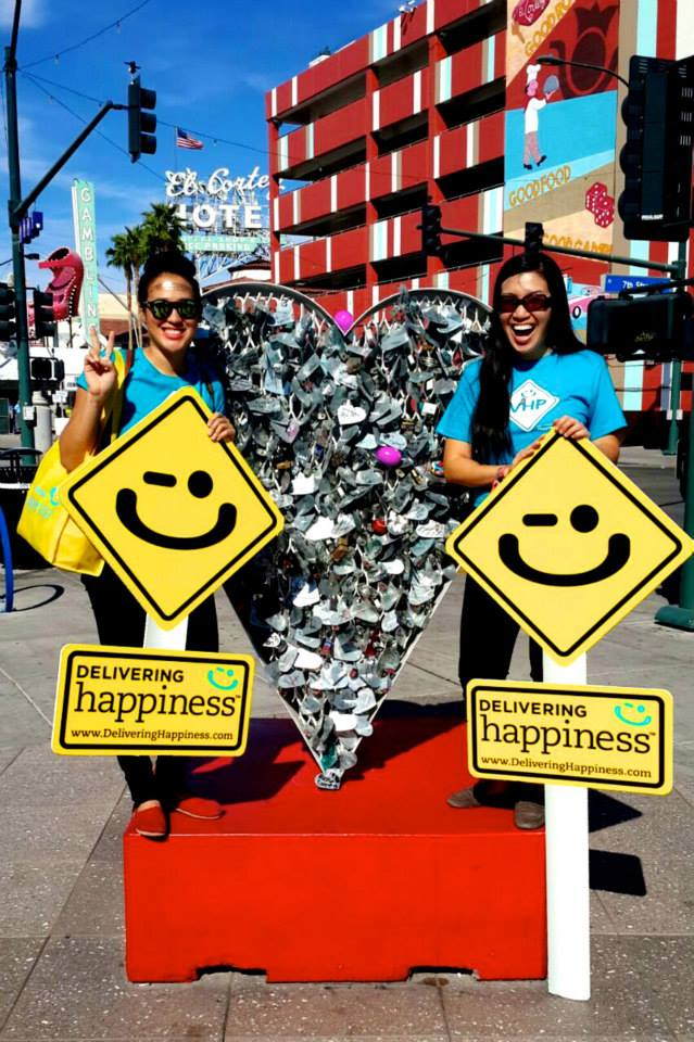 "RAH ""Random Act of Happiness""  #HappyHunt with C.Lai. at Life is Beautiful festival, Las Vegas"