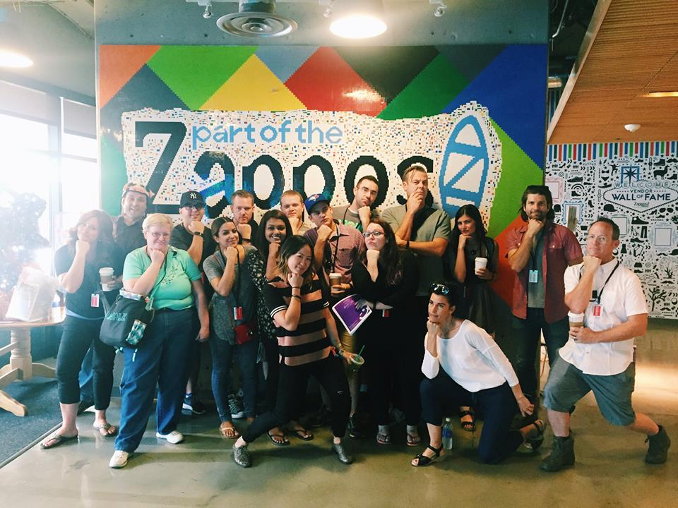 Co-facilitating a 3 day Culture Bootcamp at Zappos HQ in Las Vegas
