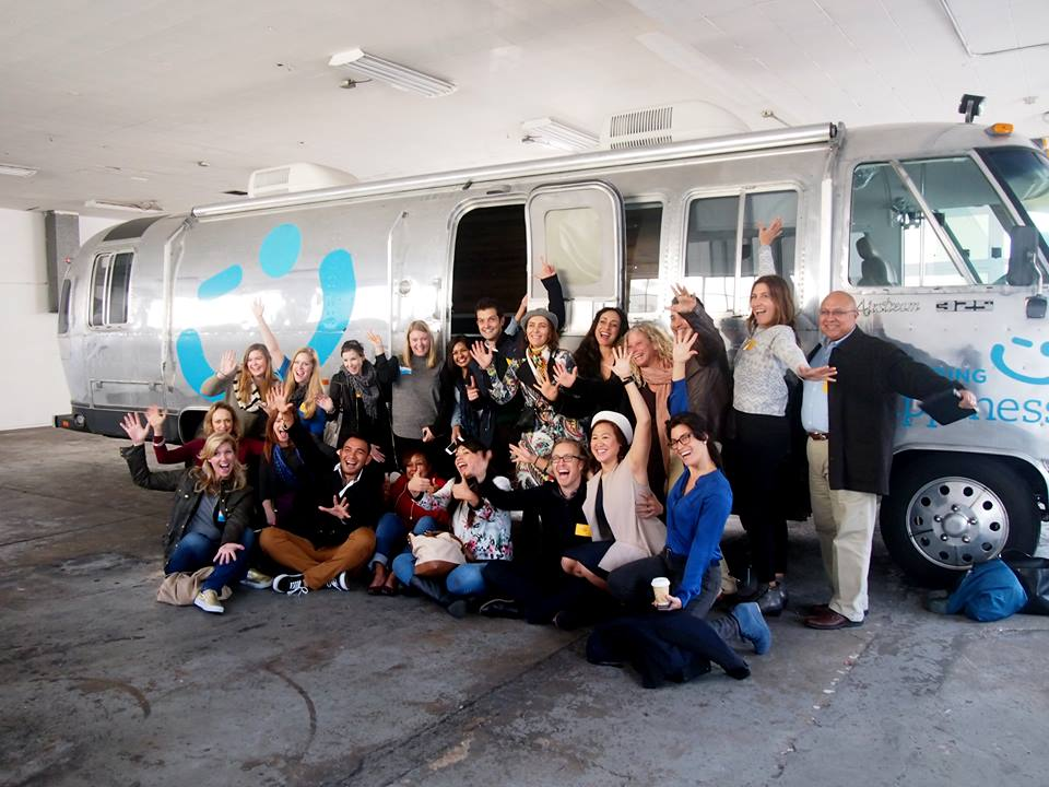 Co-leading  Culture Builder Bootcamp  with our airstream at Airbnb HQ in San Francisco in 2016.