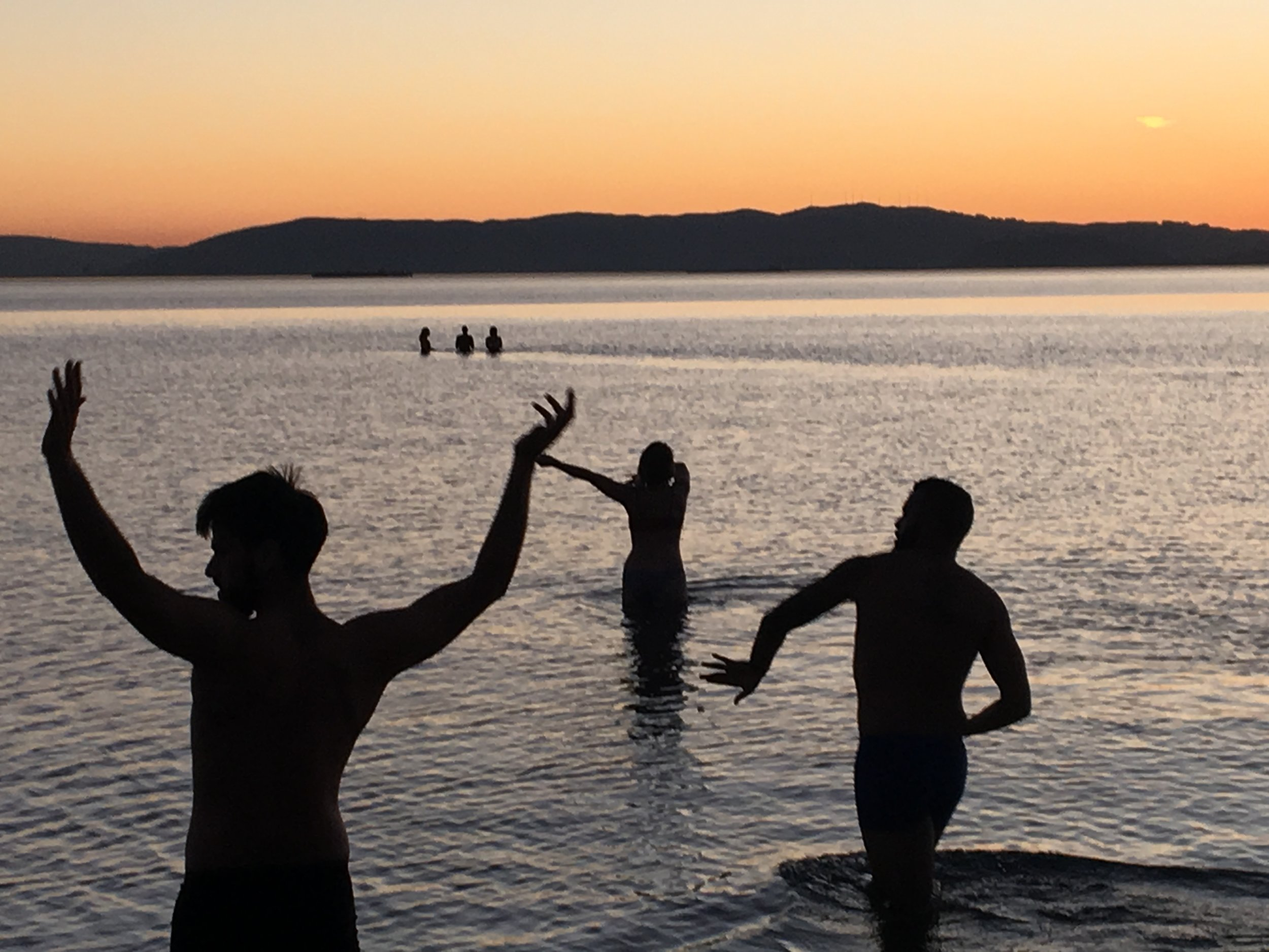 """Follow the Water  presents """"H2Flow: A Sunset Water Dance""""   Captured by Zanette Johnson"""